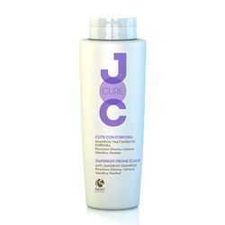 JOC Cure Anti-dandruff shampoo Piroctone Olamine, Cetraria Islandica, Menthol Шампунь против перхоти с Пироктон оламином, Исландским лишайником и Лавандой 250мл