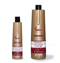 Echos Line  Seliar Curl Shampoo - Шампунь для вьющихся волос мед и масло Аргании, 1000 мл