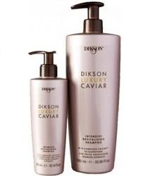 Dikson Luxury Caviar shampoo - Интенсивный ревитализирующий шампунь с Complexe Caviar, 1000 мл