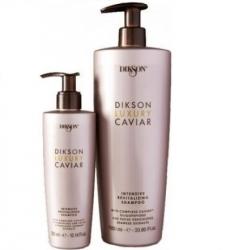 Dikson Luxury Caviar shampoo - Интенсивный ревитализирующий шампунь с Complexe Caviar, 300 мл