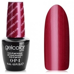 Opi GelColor Color to diner for, - Гель-лак для ногтей, 15мл