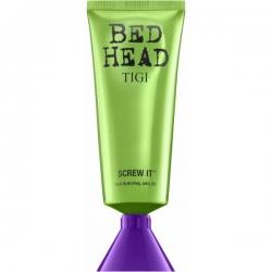 Tigi Bed Head Foxy Curls Screw It - Дисциплинирующее несмываемое масло-желе для волос, 100 мл