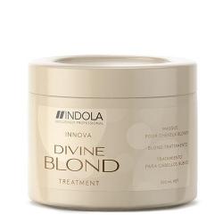Indola Divine Blond Treatment - Восстанавливающая маска для светлых Волос, 200 мл