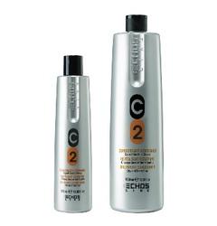 Echos Line C2 Dry & Frizzy Hair Conditioner - Кондиционер для сухих и вьющихся волос с молочными протеинами, 1000 мл