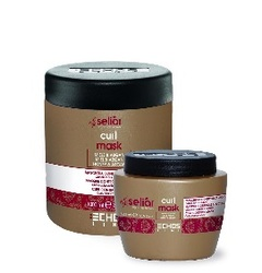 Echos Line Seliar Curl Mask - Маска для вьющихся волос медом и маслом Аргании, 1000 мл