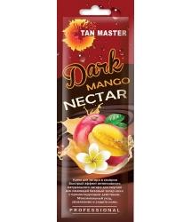Tan Master Dark Mango Nectar - Крем с бронзаторами для интенсивного загара с ароматом манго, 15мл