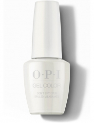 OPI Grease collection Gel Color - Гель-Лак для ногтей Don't Cry Over Spilled Milkshakes, 15 мл