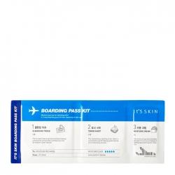 It's Skin Boarding Pass Kit - Универсальный набор для ухода за лицом во время путешествий 7г/5г/2г