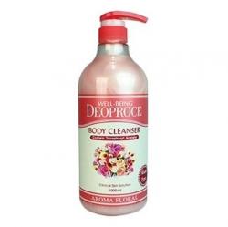 Deoproce Well-being deoproce aroma body cleanser floral - Гель для душа Цветочный 1000 мл
