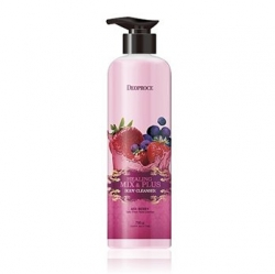 Deoproce Healing Mix & Plus Body Cleanser Mix Berry - Гель для душа ягодный микс 750 г