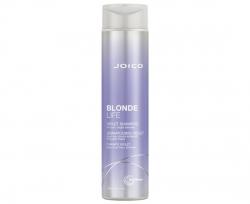 Joico Blonde Life Violet Shampoo - Шампунь фиолетовый для холодных ярких оттенков блонда, 300 мл