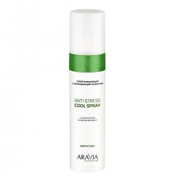Aravia Professional Anti-Stress Cool Spray - Спрей очищающий с охлаждающим эффектом, 250 мл