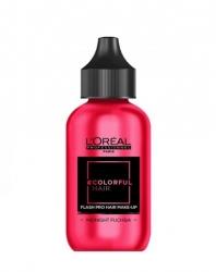 L'Oreal Professionnel Colorful Hair Flash Midnight Fuchsia - Краска для волос Дерзкая фуксия, 60 мл