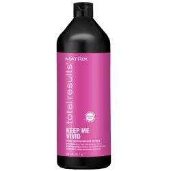 Matrix Total Results Keep Me Vivid Shampoo - Шампунь бессульфатный для сохранения цвета ярких оттенков, 1000мл