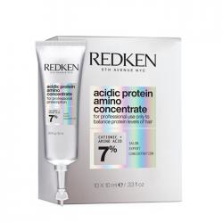 Redken Acidic Bonding Concentrate Amino Protein - Концентрат протеиновый для полной и мгновенной трансформации волос 10*10мл