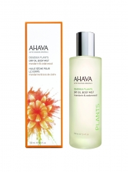 Ahava Deadsea Plants Dry Oil Body Mist - Сухое масло для тела мандарин и кедр, 100 мл