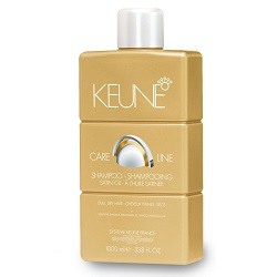 Keune Care Line Satin Oil Shampoo - Шампунь «Шелковый Уход» 1000 мл