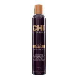 CHI Deep Brilliance Optimum Finish Flexible Hold Spray - Лак для волос эластичной фиксации, 284 гр
