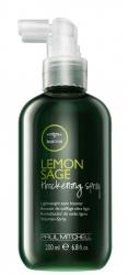 Paul Mitchell Lemon Sage Thickening Spray - Объемообразующий спрей-фиксатор, 200мл