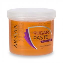 "Aravia Professional - Сахарная паста для депиляции ""Мягкая и легкая"" мягкой консистенции, 750 г"