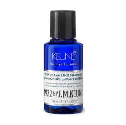 Keune 1922 Care Deep-Cleansing Shampoo -  Очищающий шампунь, 50 мл *SALE