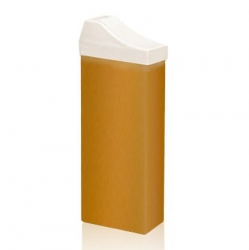 Beauty Image - Воск теплый Жёлтый натуральный -  для лица  (с узкой насадкой), 110 мл/145г