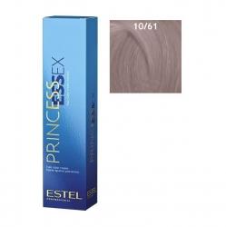 Estel Princess Essex - Краска для волос 10/61 светлый блондин фиолетово-пепельный, 60 мл