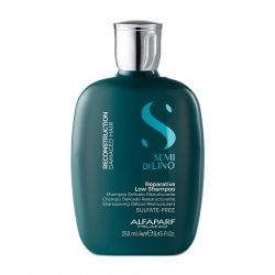 Alfaparf Milano Semi Di Lino Reconstruction Reparative Shampoo - Шампунь для поврежденных волос 250мл