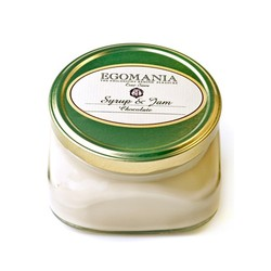 "Egomania Body Cream ""Chocolate"" (syrup and jam) - Крем для тела ""Шоколад"" (Сироп И Джем) 370 мл"