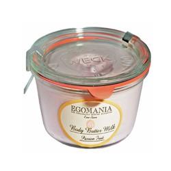 Egomania Body Butter Milk Passion Fruit - Крем-масло для тела Маракуйя 220 мл