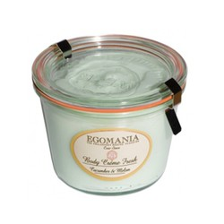 Egomania Cucumber & Melon - Крем-сливки для тела Огурец и Дыня 370 мл