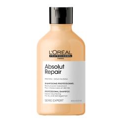L'Oreal Professionnel Absolut Repair Gold Quinoa+Protein Shampoo РЕНО - Восстанавливающий шампунь для очень поврежденных волос, 300 мл