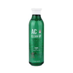 Etude House AC Clean Up Gel Toner - Тонер для проблемной кожи с акне 200 мл