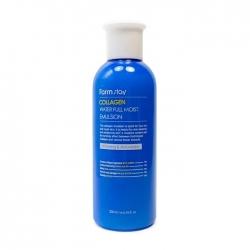 FarmStay Collagen Water Full Moist Emulsion - Эмульсия Коллагеновая для сухой кожи лица, 200мл