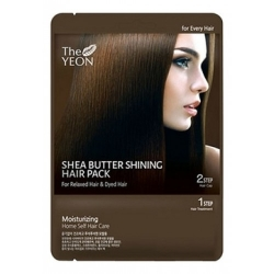 The YEON Shea butter shining hair pack - Маска для волос с маслом Ши, 25г