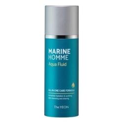 The YEON Marine Homme Aqua Fluid - Флюид для лица с морской водой мужской, 120 мл