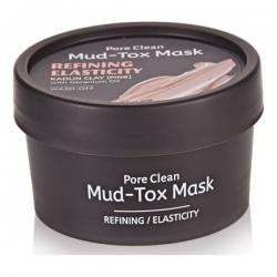 TheYEON Pore Clean Mud-Tox Mask Black- Очищающая детокс-маска с глиной Черная, 80 мл