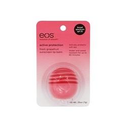 Eos Active Protection Pink Grapefruit - Бальзам для губ (на картонной подложке), 7 г