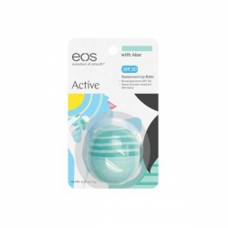 Eos Active Lip Balm with Aloe SPF 30  - Бальзам для губ, 7гр
