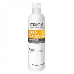 Epica Deep Recover Shampoo - Шампунь для восстановления поврежденных волос с маслом сладкого миндаля 300мл