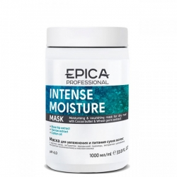 Epica Intense Moisture Mask - Маска для увлажнения и питания сухих волос 1000мл