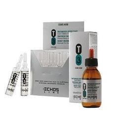 Echos Line T3 Anti Hair Loss - Лосьон против выпадения с соевым протеином, экстрактами розмарина и крапивы (в ампулах), 10 мл x 12 шт