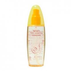 Flor de Man Keratin Hair Coating Essence - Эссенция для восстановления поврежденных волос, 100 мл
