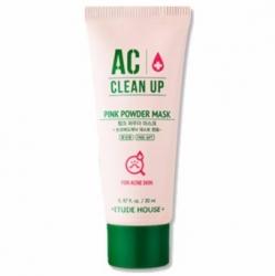 Etude House AC Clean Up Pink Powder Mask - Маска с розовой глиной для проблемной кожи 100 мл