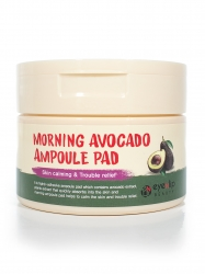 Eyenlip Morning Avocado Ampoule Pad - Пады пропитанные эссенцией с экстрактом авокадо, 100 шт.