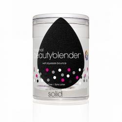 Beauty blender Beautyblender pro + Solid Blendercleanser - Спонж и мини мыло для очистки Solid black