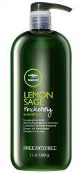 Paul Mitchell Lemon Sage Thickening Shampoo - Объемообразующий шампунь 1000 мл