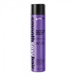 Sexy Hair Smooth Sulftate Free Smoothing Shampoo - Шампунь разглаживающий без сульфатов, 300 мл