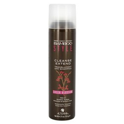 Alterna Bamboo Style Cleanse Extend -Sheer Blossom - Сухой спрей-шампунь для свежести и объема c ароматом весенних цветов, 150 мл