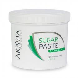 """Aravia Professional - Сахарная паста для депиляции """"Тропическая"""" средней консистенции, 750 г"""
